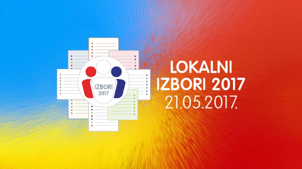 Kandidacijske liste za lokalne izbore 2017