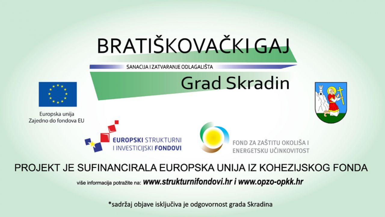 """Sanacija i zatvaranje odlagališta otpada """"Bratiškovački gaj"""", Grad Skradin"""